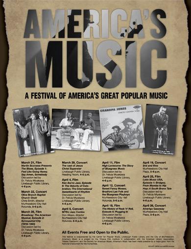 America's Music Poster