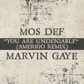 Mos Def x Marvin Gaye - You Are Undeniable (Amerigo Remix)
