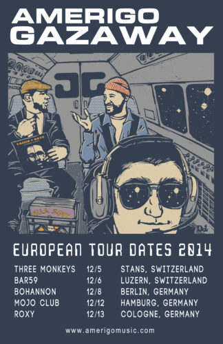 Amerigo Gazaway Tour Dates Europe 2014