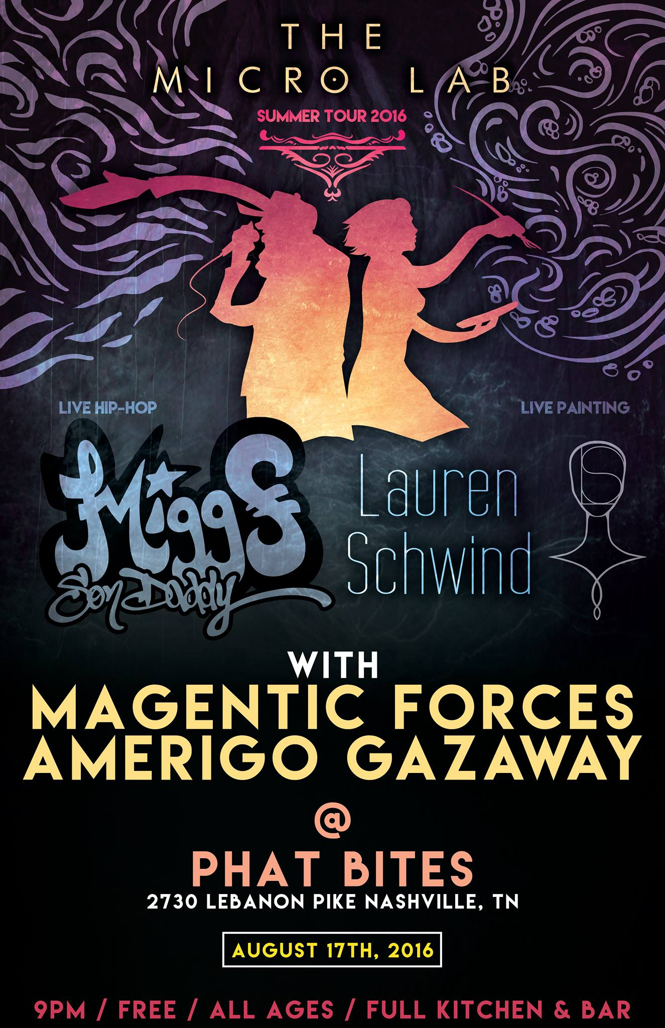 The Micro Lab Tour w/ Magnetic Forces & Amerigo Gazaway at Phat Bites
