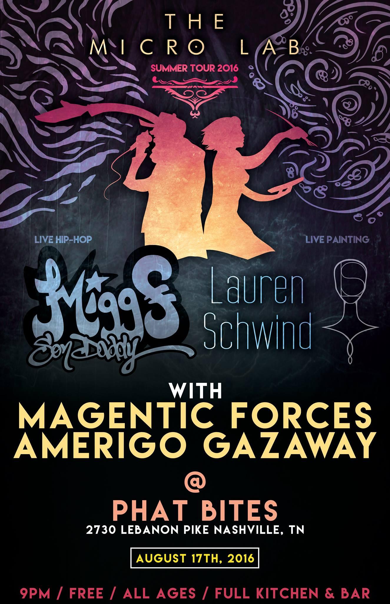The Micro Lab Tour w/ Magnetic Forces & Amerigo Gazaway at Phat Bites