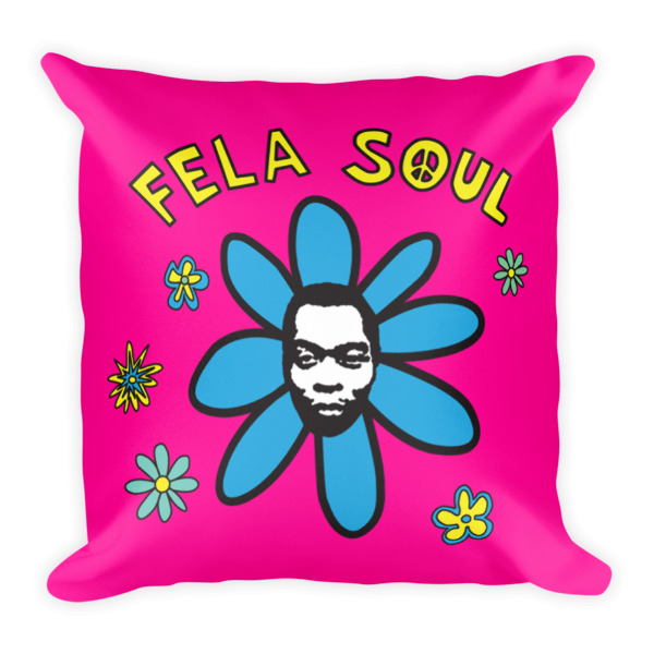 Fela Soul (Square Pillow)