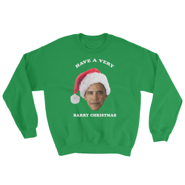 #BarryChristmas (Holiday Sweater)