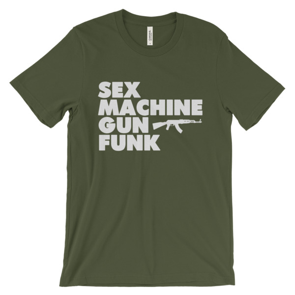 Sex Machine Gun Funk (Unisex T-Shirt)