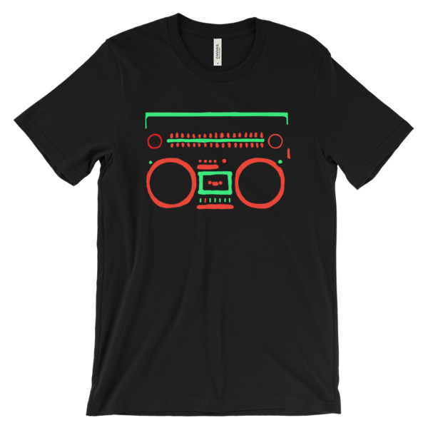 Bizarre Boombox (Unisex T-Shirt)